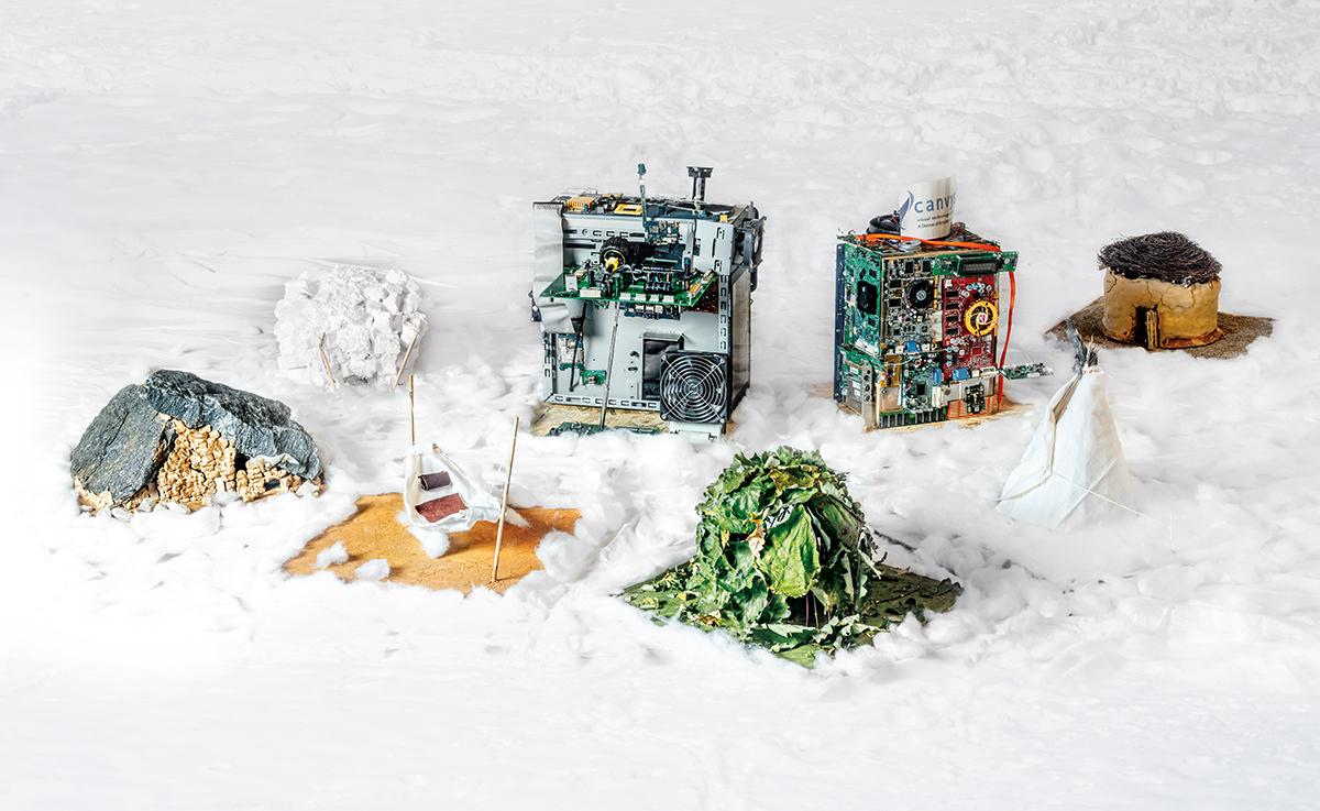 2019 - Kunstwerk aus Projekt mit Grundschule Doeggingen