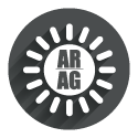 Icon grey circle: AR/AG