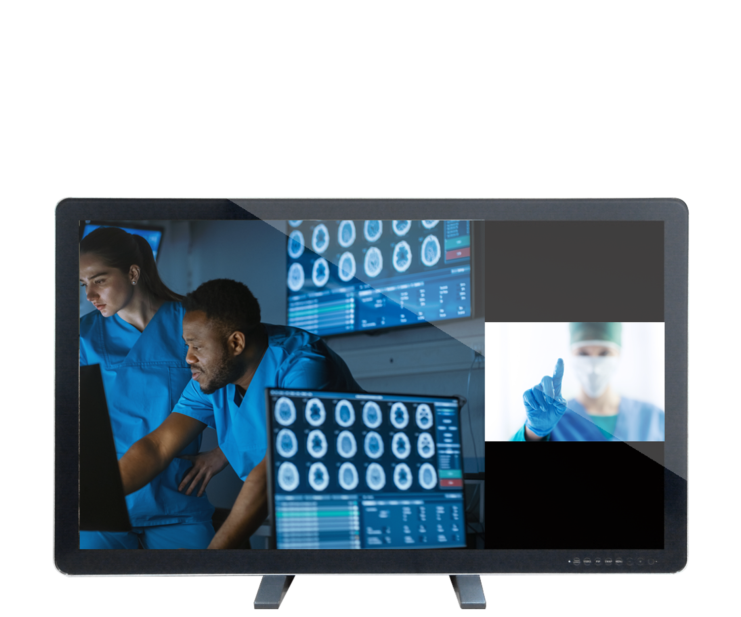 Canvys 4K Series MED: 43 inch Row