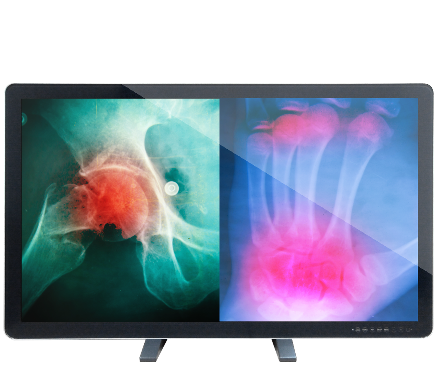 Canvys 4K Series MED: 55 inch Row