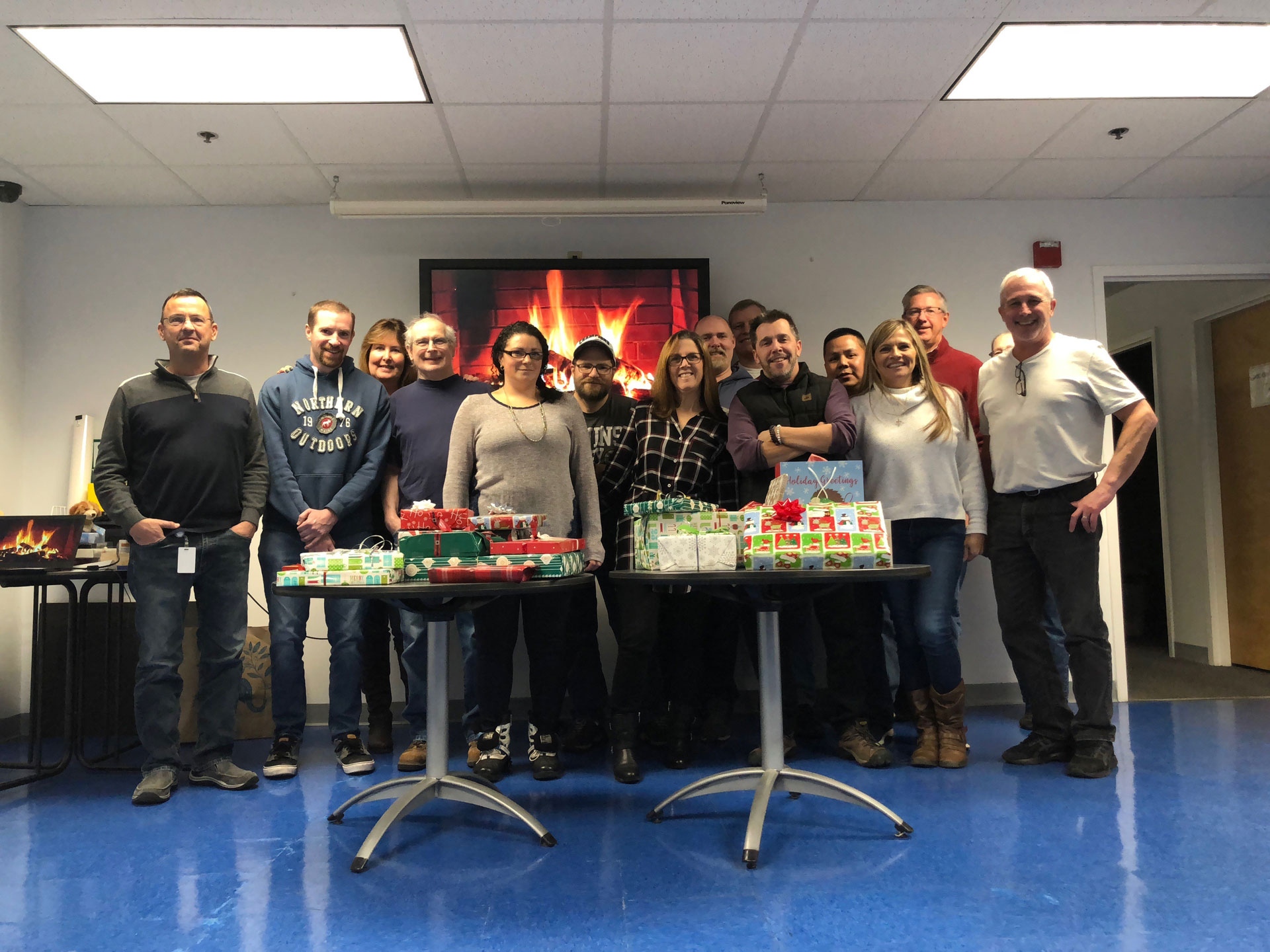 2019: Canvys MA Team supports children in need
