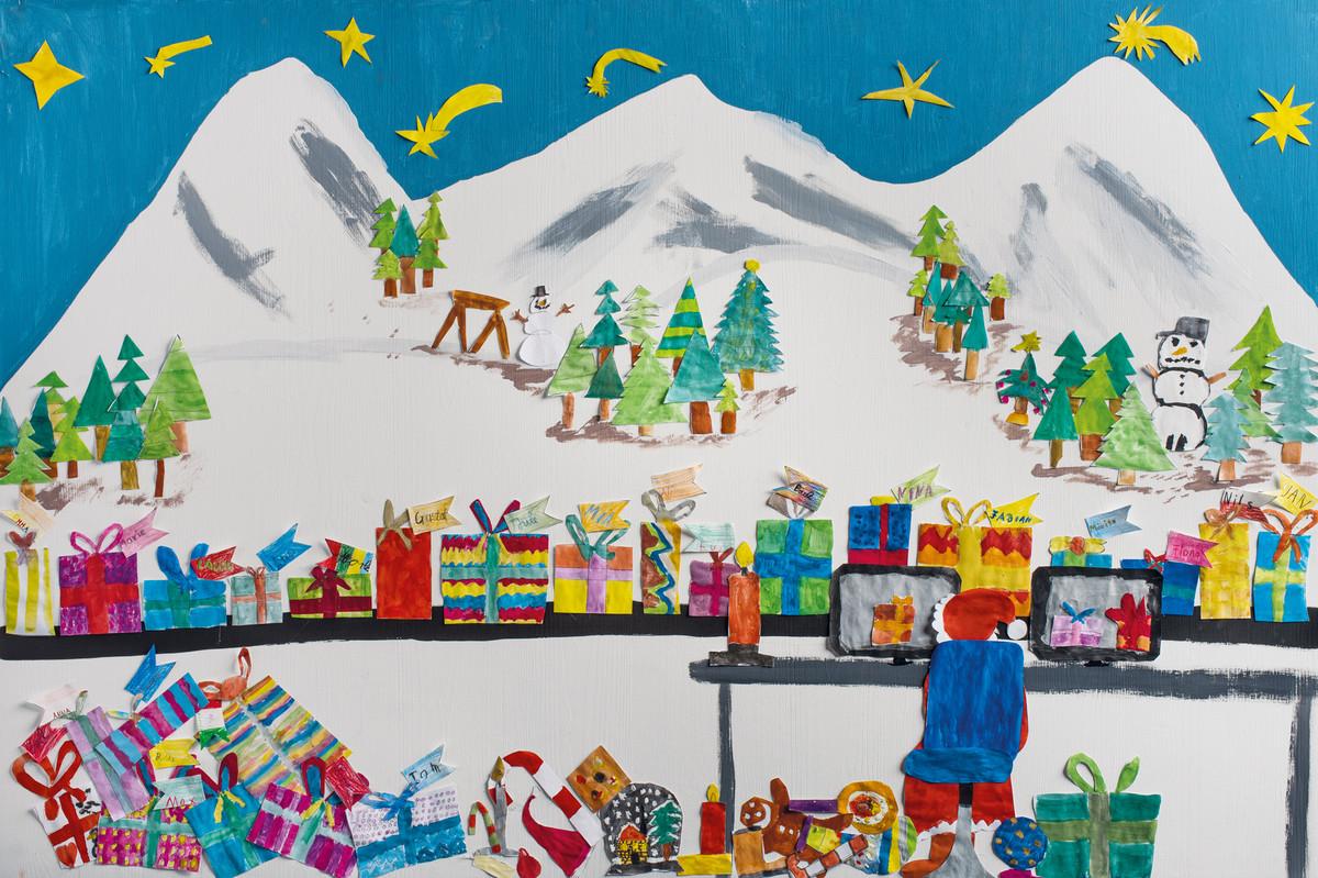 2018 - Kunstwerk aus Projekt mit Grundschule Doeggingen